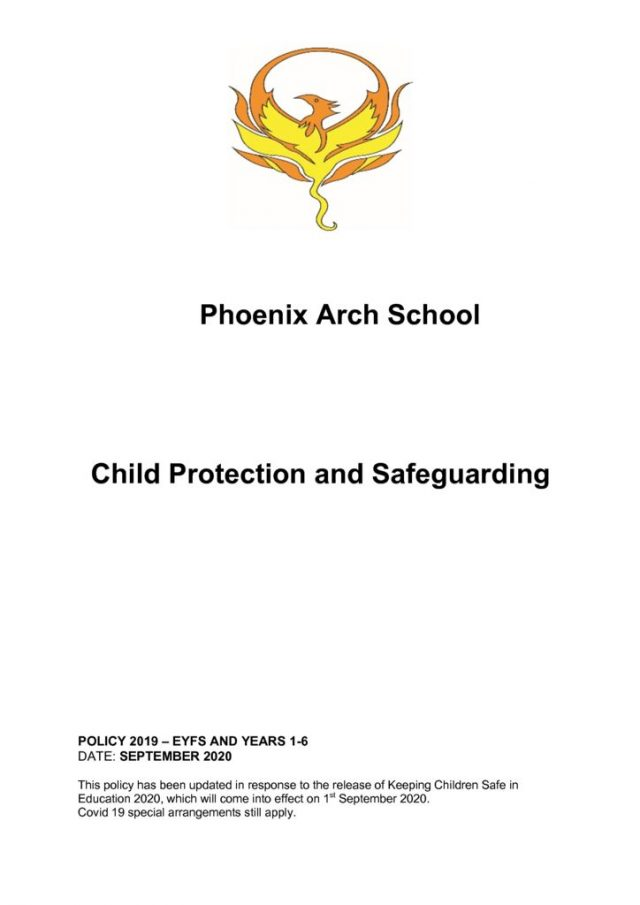 thumbnail of Child protection & safeguarding NEW FORMAT