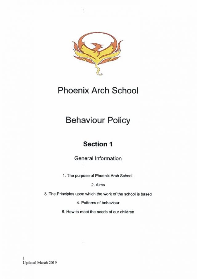 thumbnail of Behaviour Policy