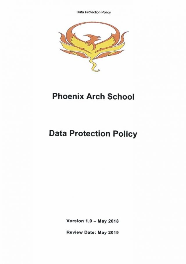 thumbnail of Data Protection Policy